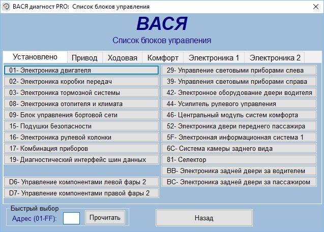 Парочка интересных кодировок для Audi A4 B9 с помощью VCDS или Васи