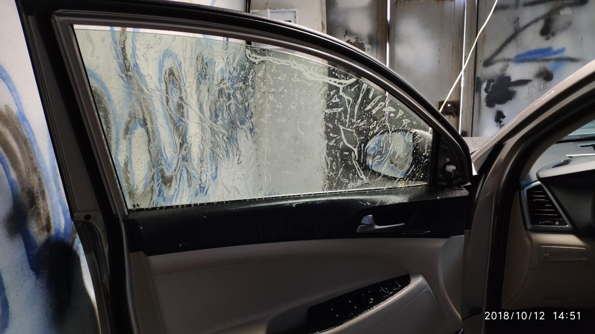 Как тонировать окна