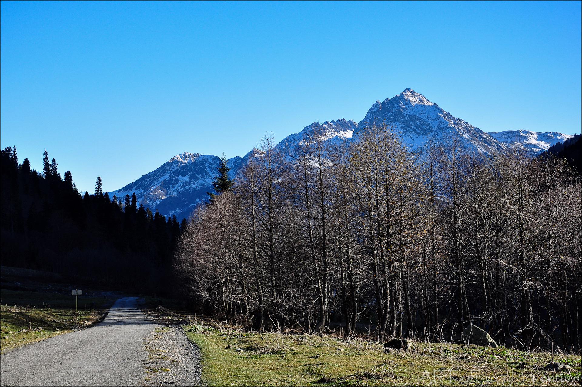 гора ауадхара абхазия фото был
