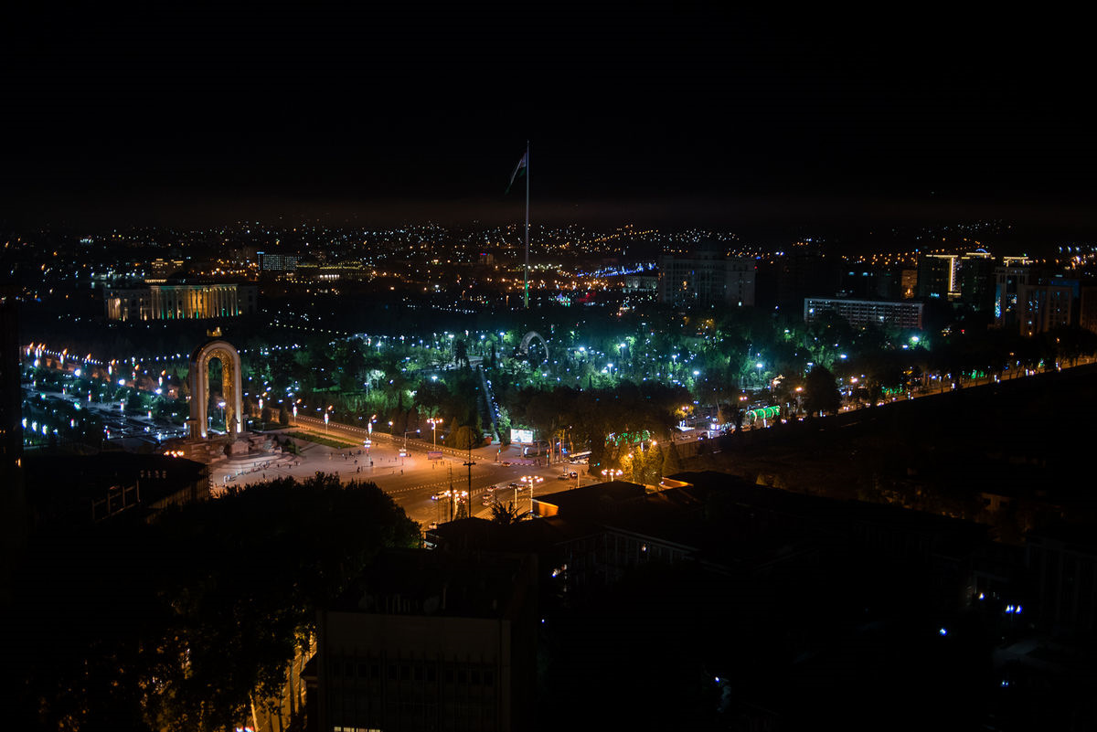 Таджикистан картинка город
