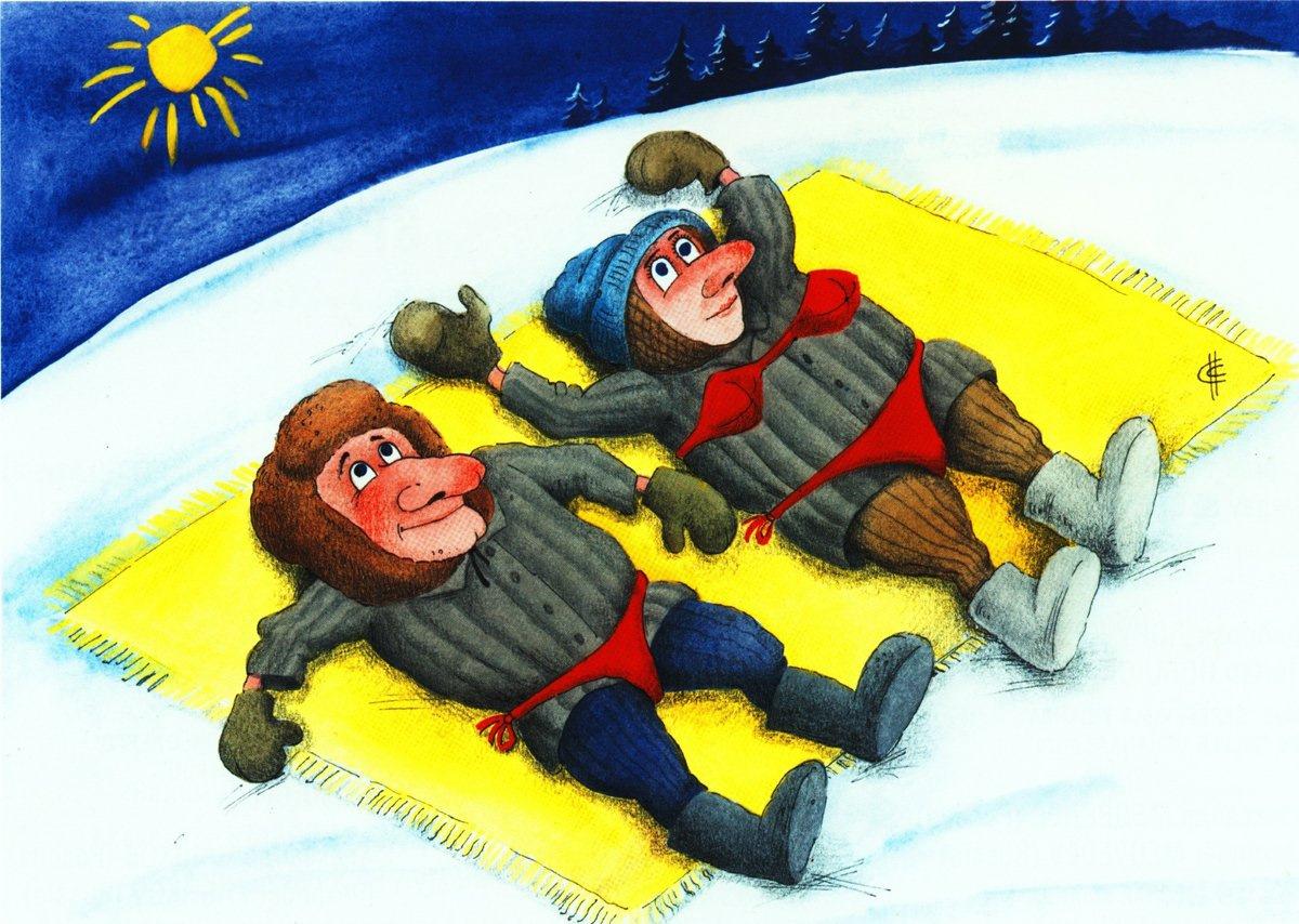 Картинки про холодное лето прикольные и смешные и ржачные