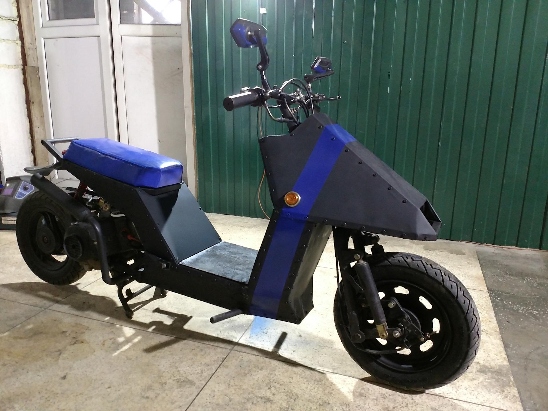 Кастом скутеры фото