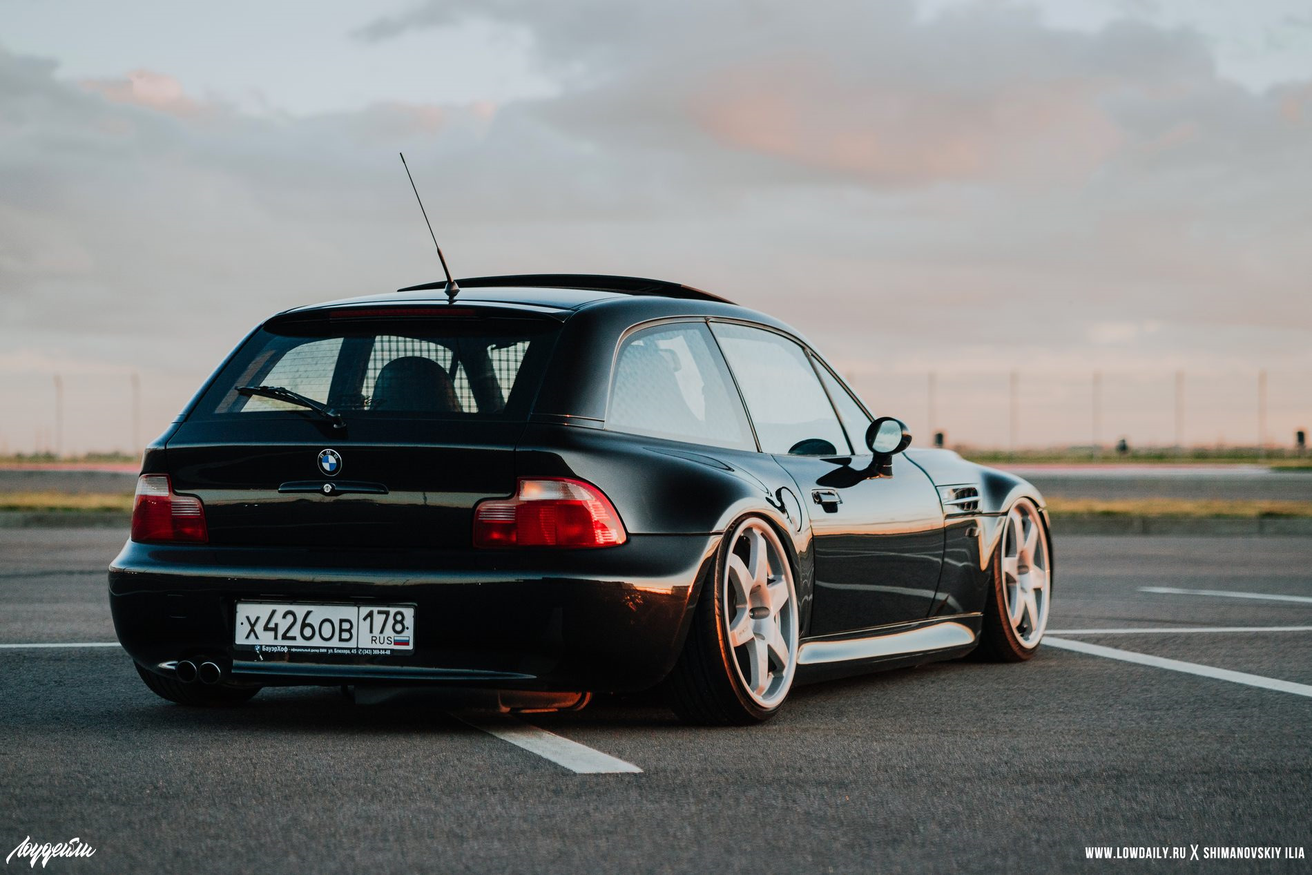 Bmw Z3 Coupe на Lowdaily сообщество Stanced на Drive2