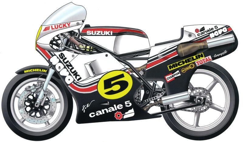 1981 Suzuki RG500 Gamma XR35