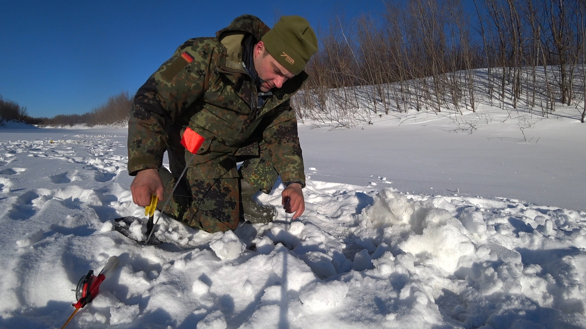 Рыбалка зимняя осень 2019 года