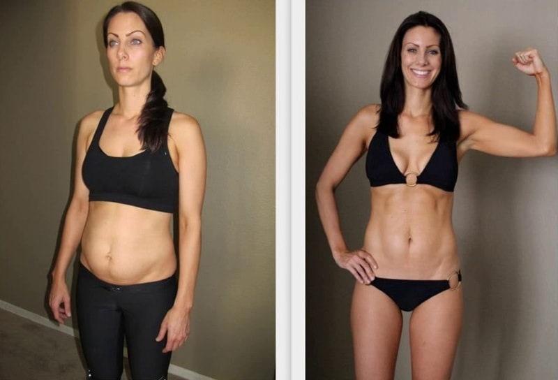 Результаты похудения с табата