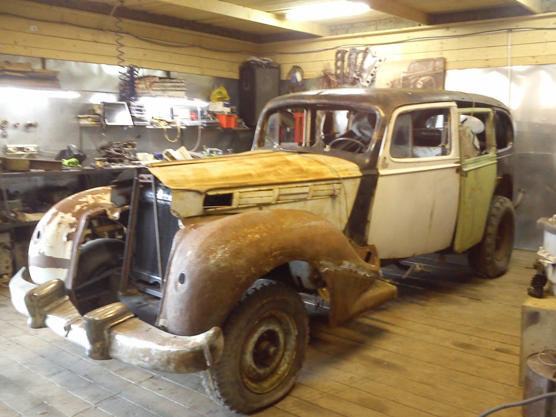 Packard Super Eight 1938
