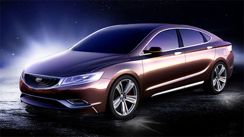 Geely привезёт в Россию новый седан FE6 — Hot-Parts на DRIVE2
