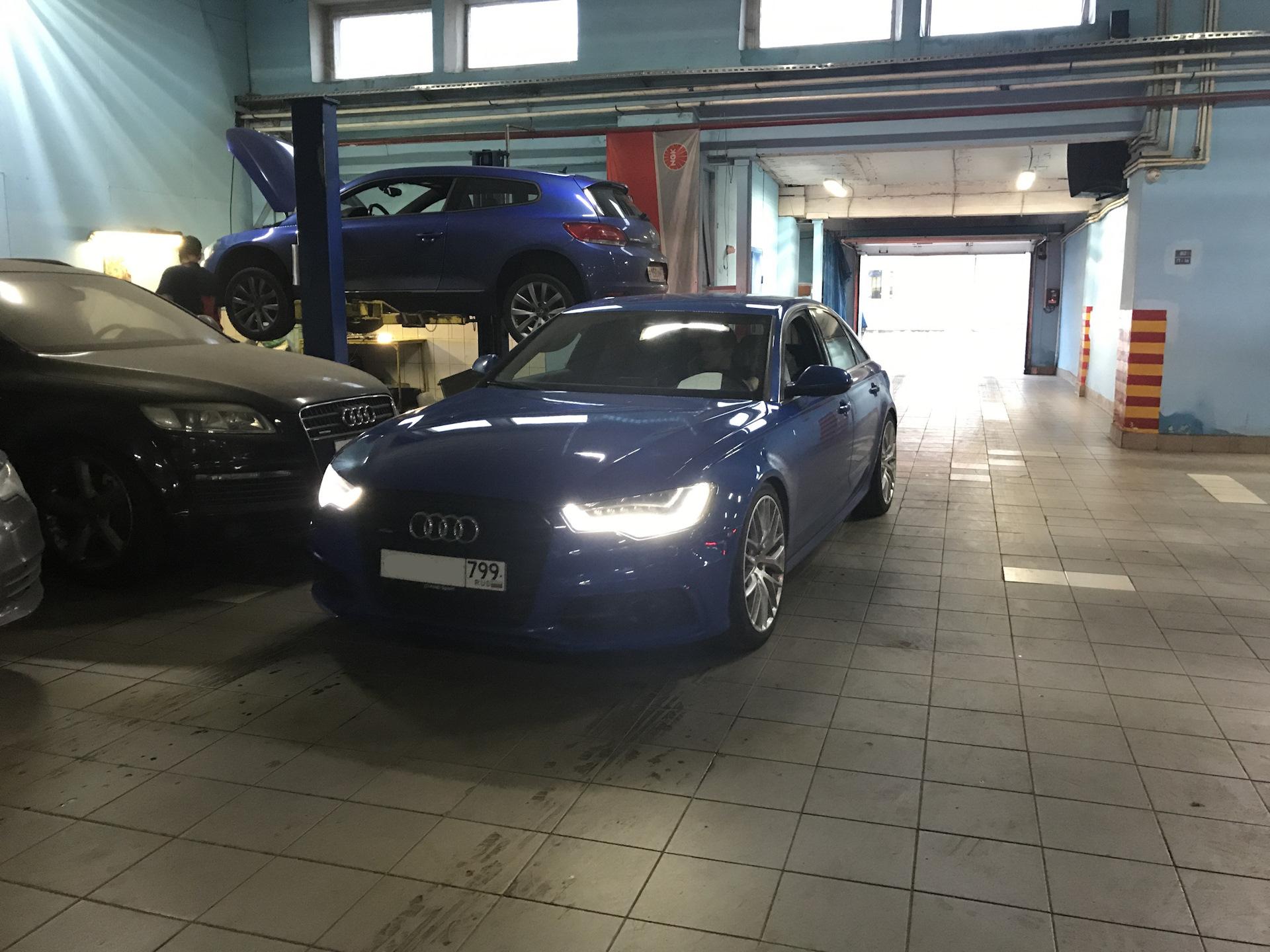 подвеска амортизаторы Bilstein B8 пружины Hr бортжурнал Audi