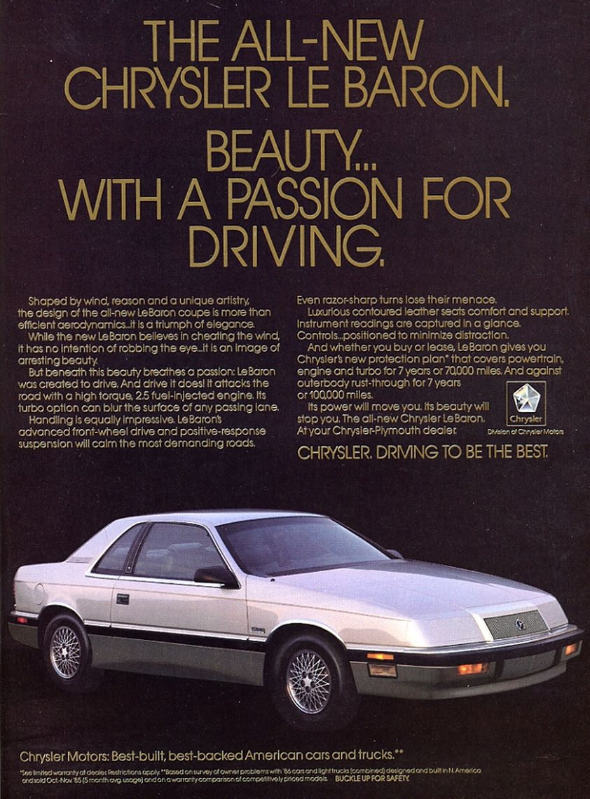 Service Repair Manual 1993 --> (online) — logbook Chrysler Le Baron Total  Rebuild 1990 on DRIVE2