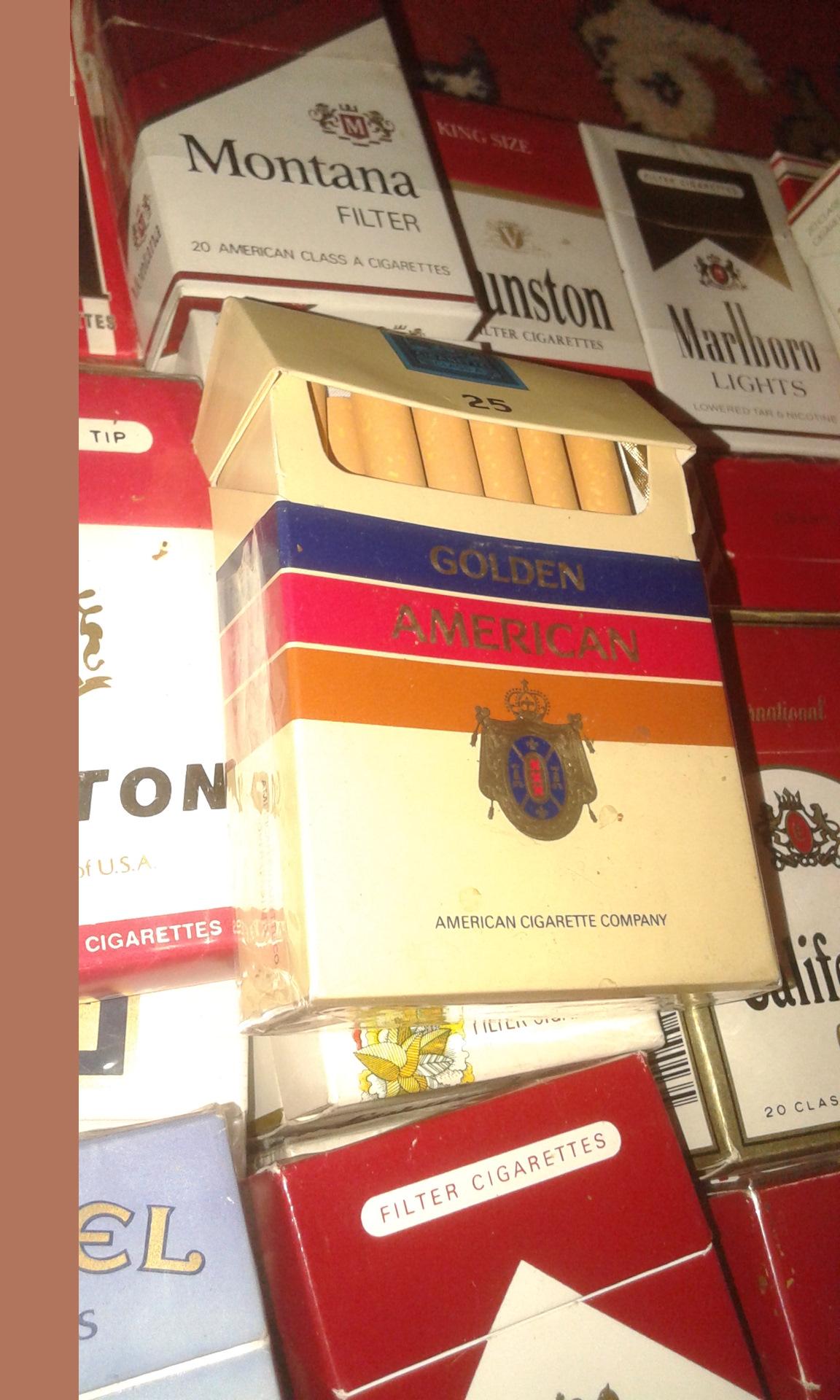 голден американ сигареты 25 штук купить