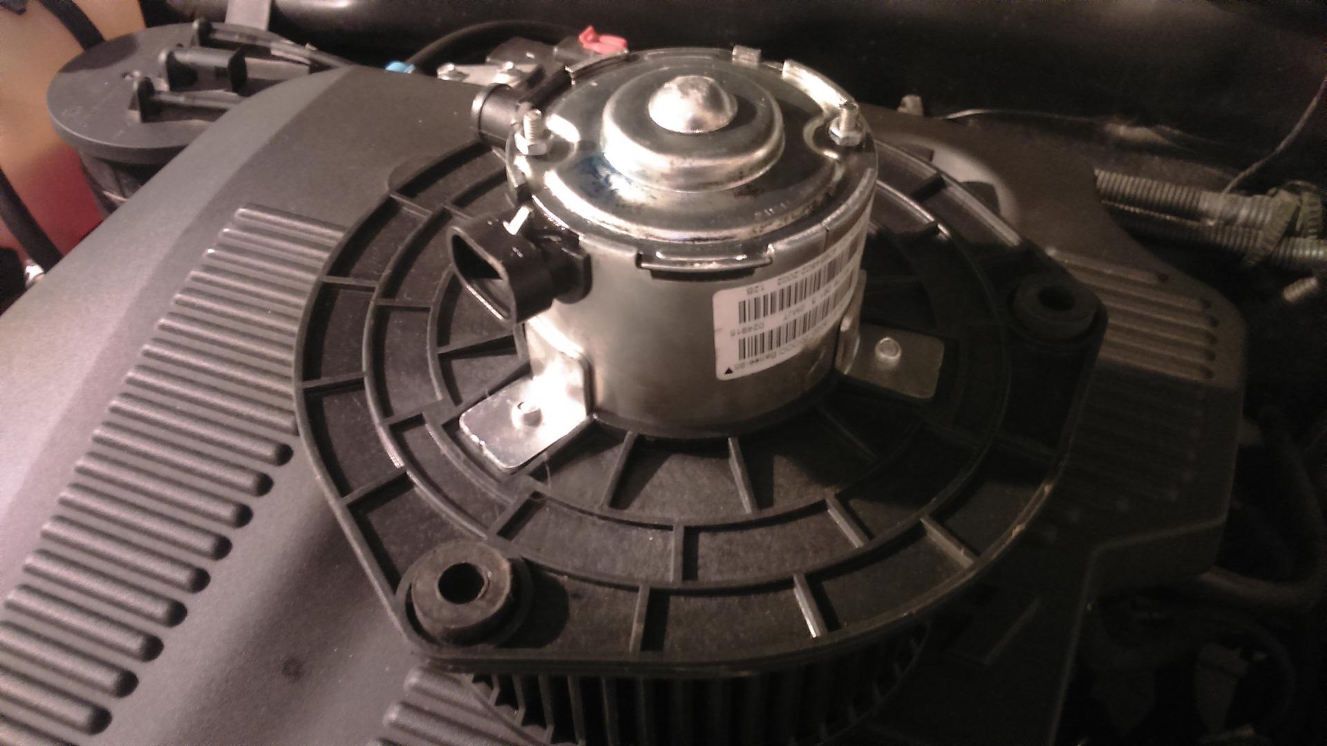 Как на Ниве Шевроле заменить вентилятор (моторчик) печки
