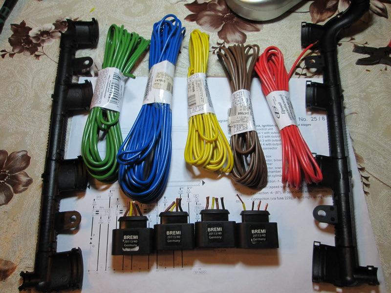 Набор для ремонта жгута (косы) катушек зажигания