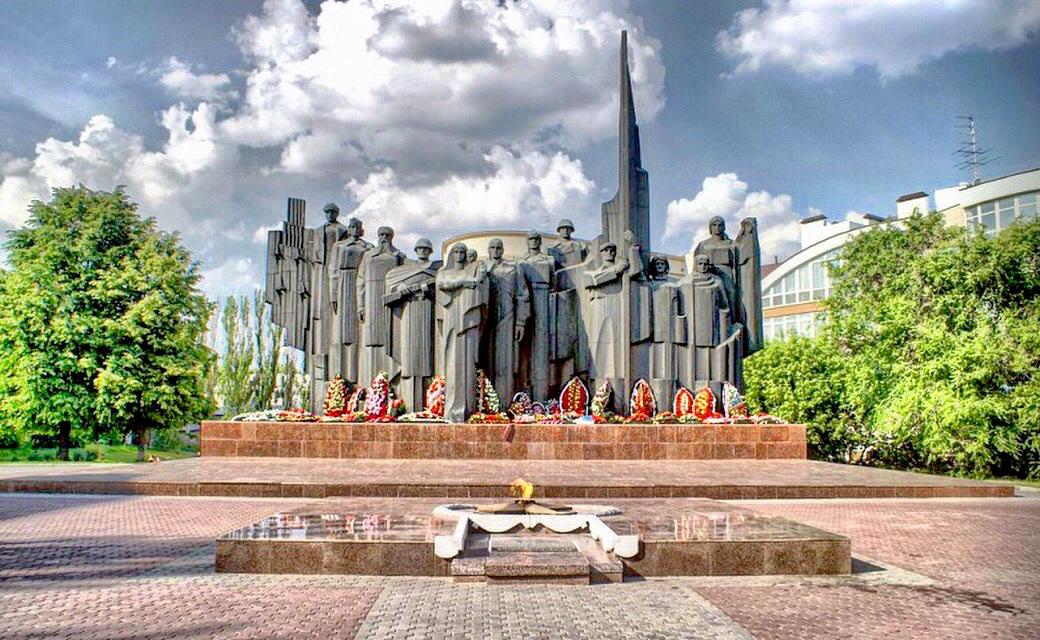 обелиски в городах героях фото теперь