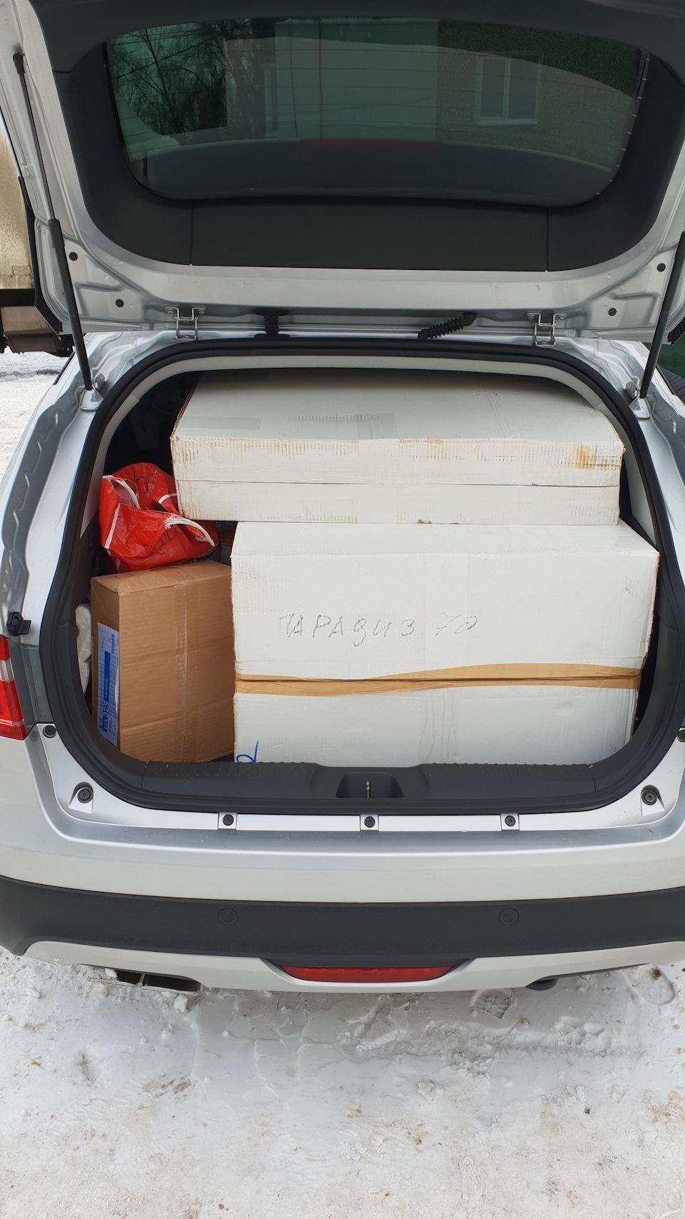 Lada vesta sw cross размеры багажника