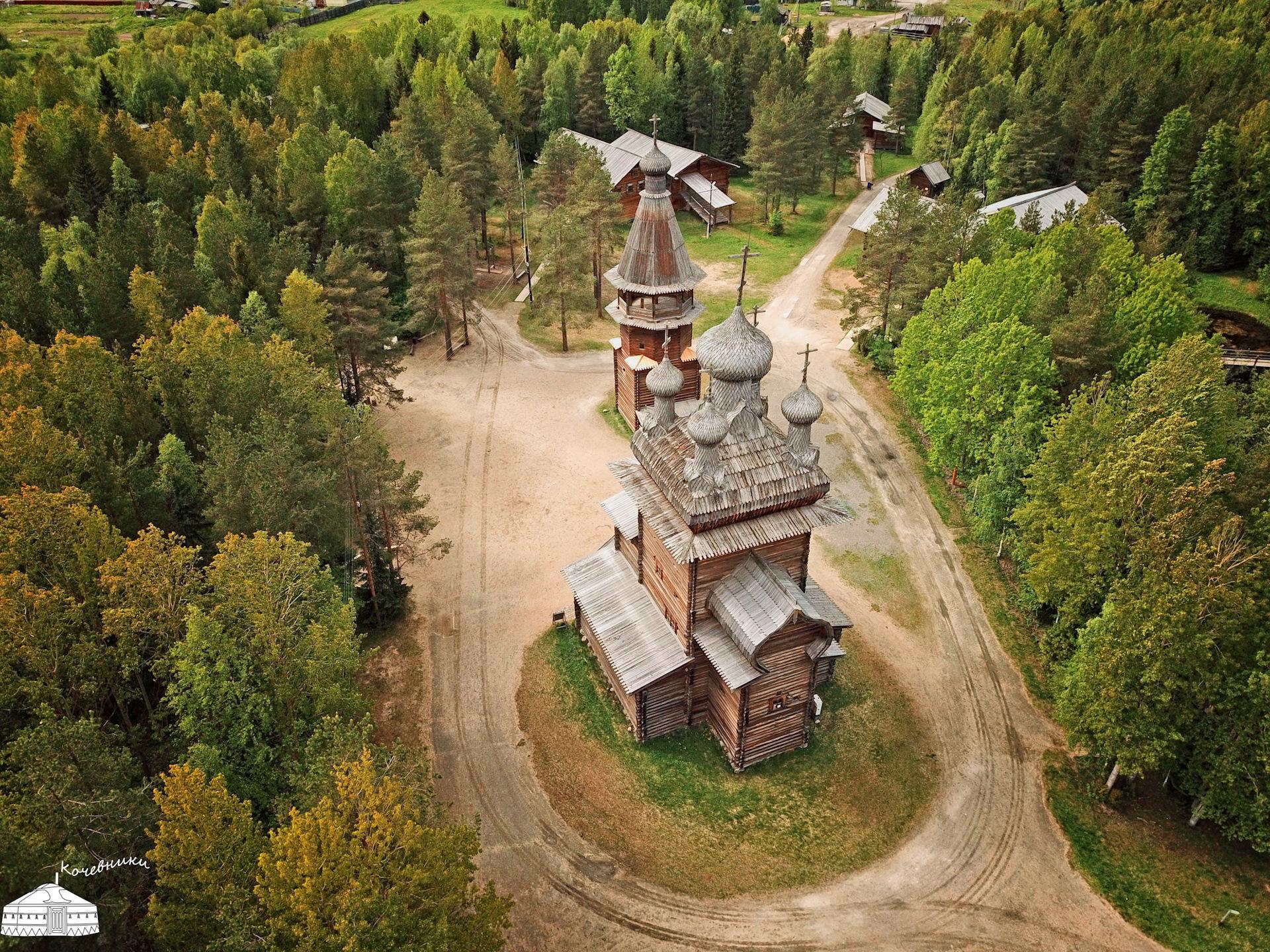 Музей деревянного в картинках