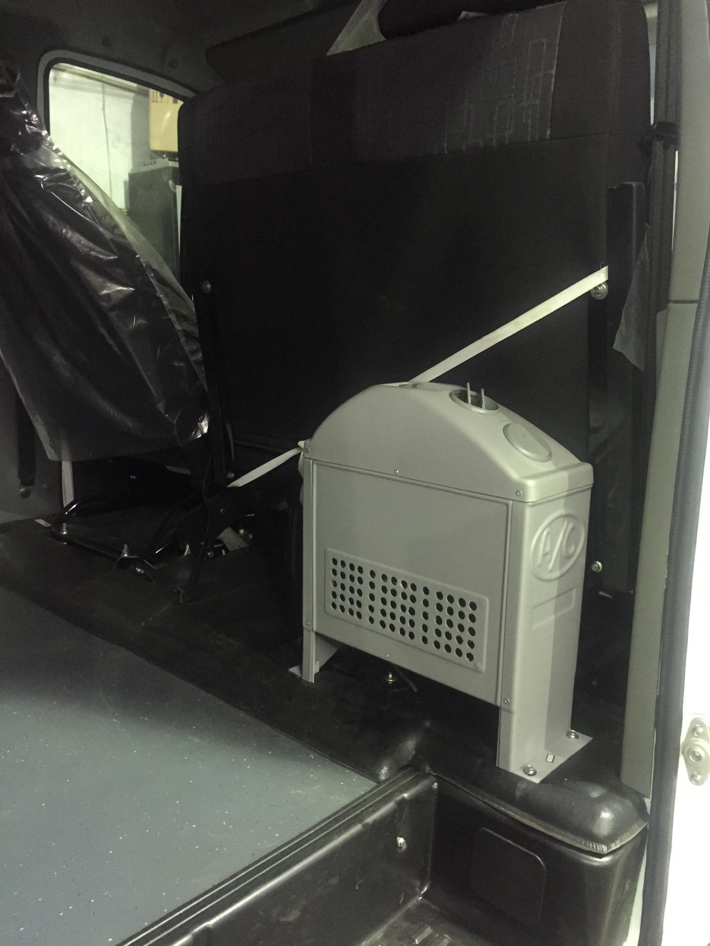 Установка кондиционера на соболя кондиционер mitsubishi msc ga35vb
