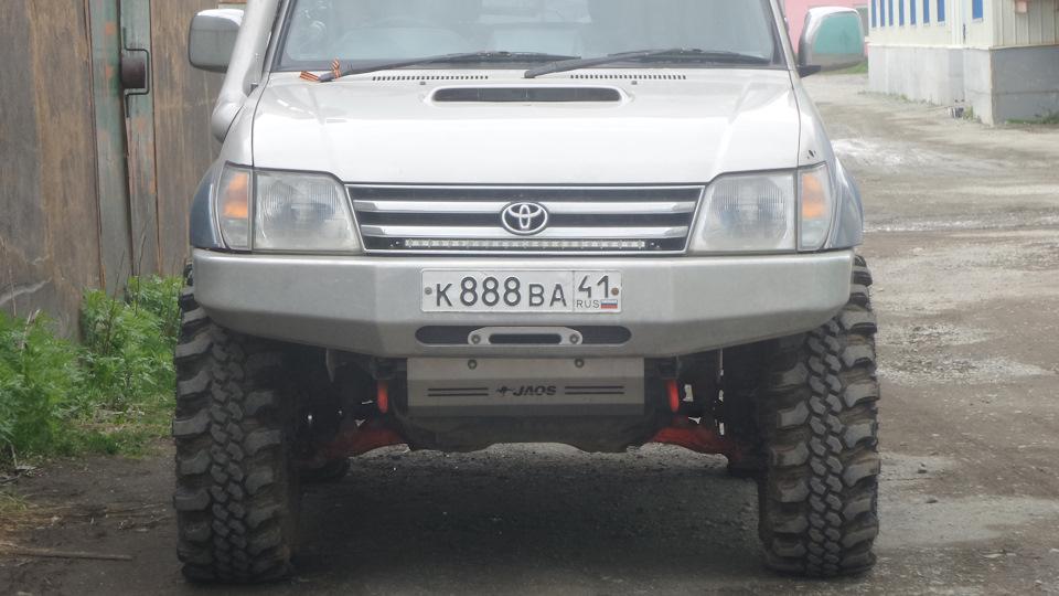 Toyota Land Cruiser Prado URD 5VZ-FZE 6,1s 233km/h | DRIVE2