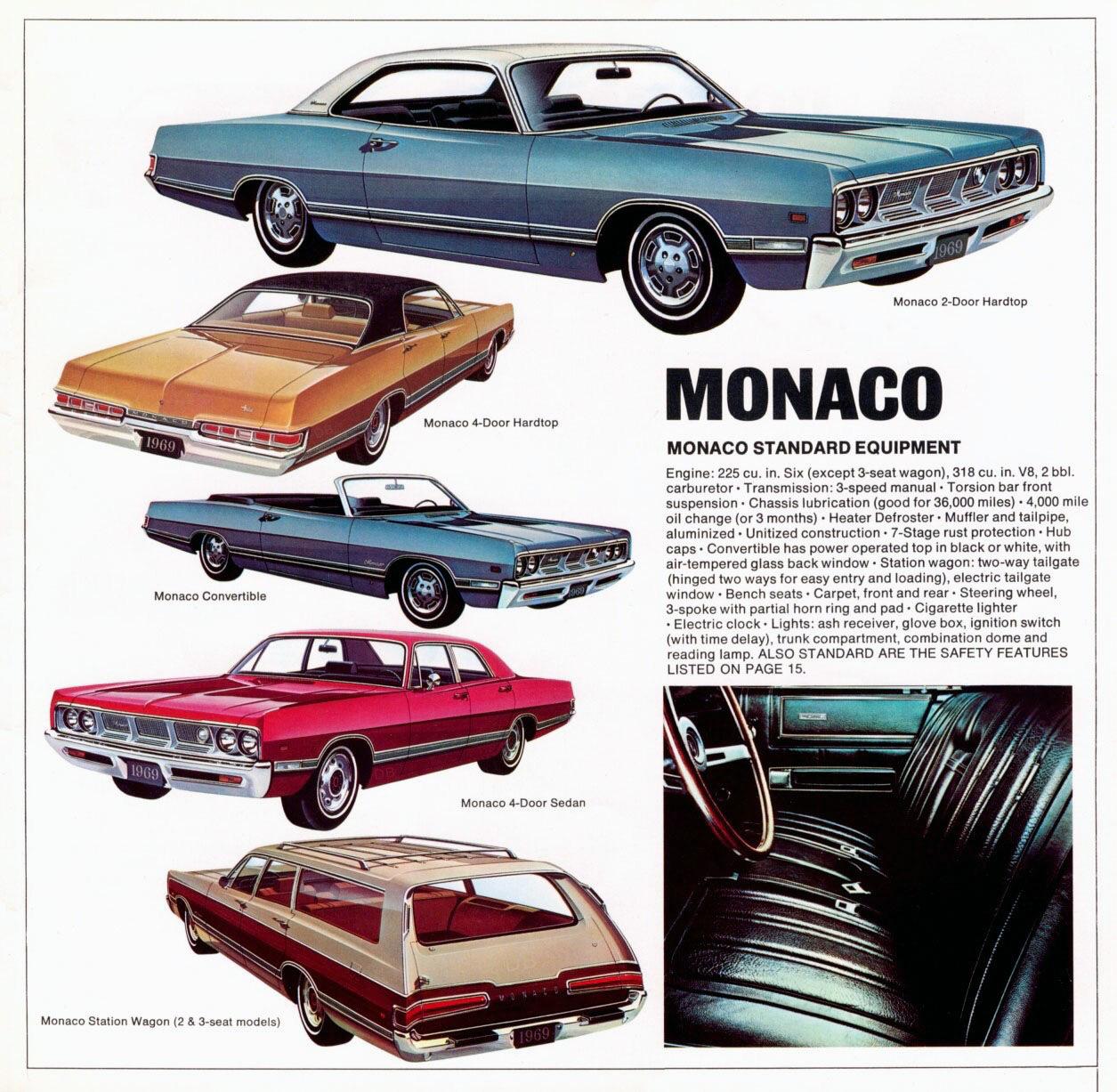 Chrysler corporation 1969  Dodge  - Записки работающего