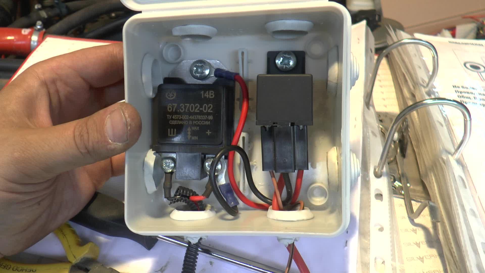 Реле регулятора на УАЗ 469 (31514)