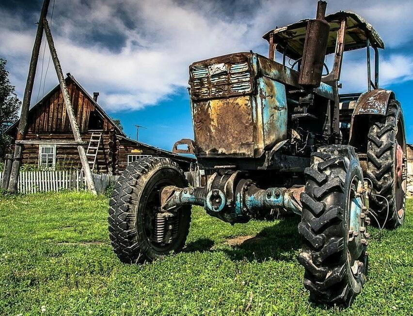 Картинки приколы с тракторами, гост