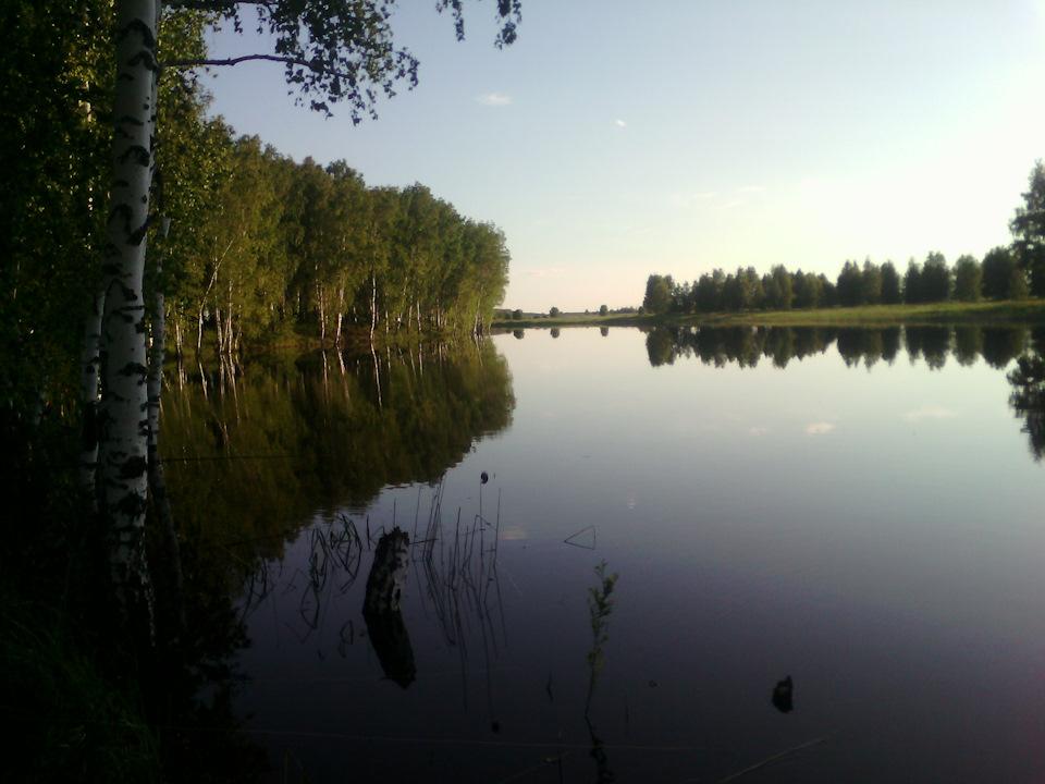 Рыбалка на реке ош