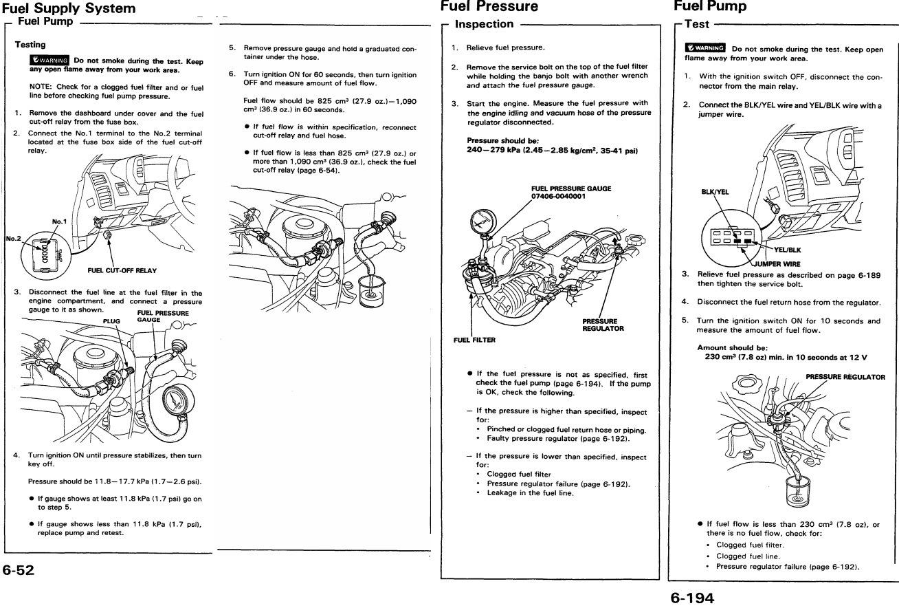 Honda Prelude Ba4 Ba5 Drive2 Fuel Filter