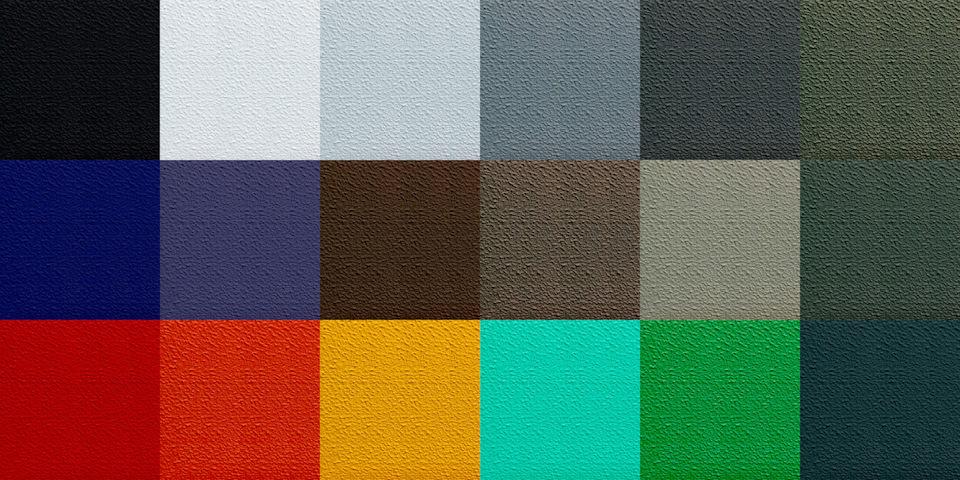 Краска раптор для автомобилей цвета