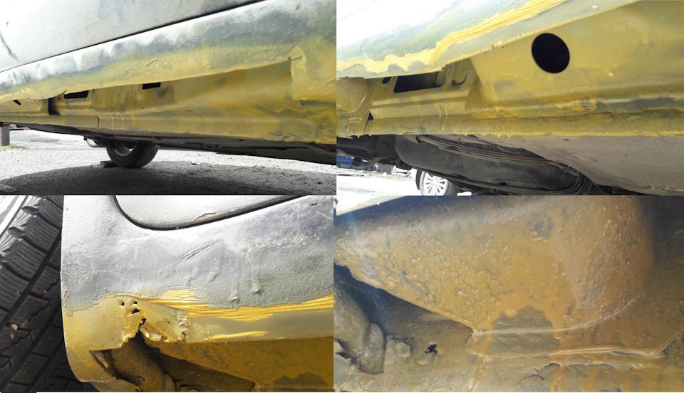 Ремонт порогов форд фокус 2 своими руками