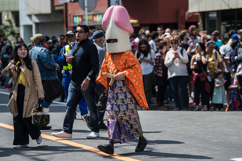 Какие странные шоу придумали японцы с фото