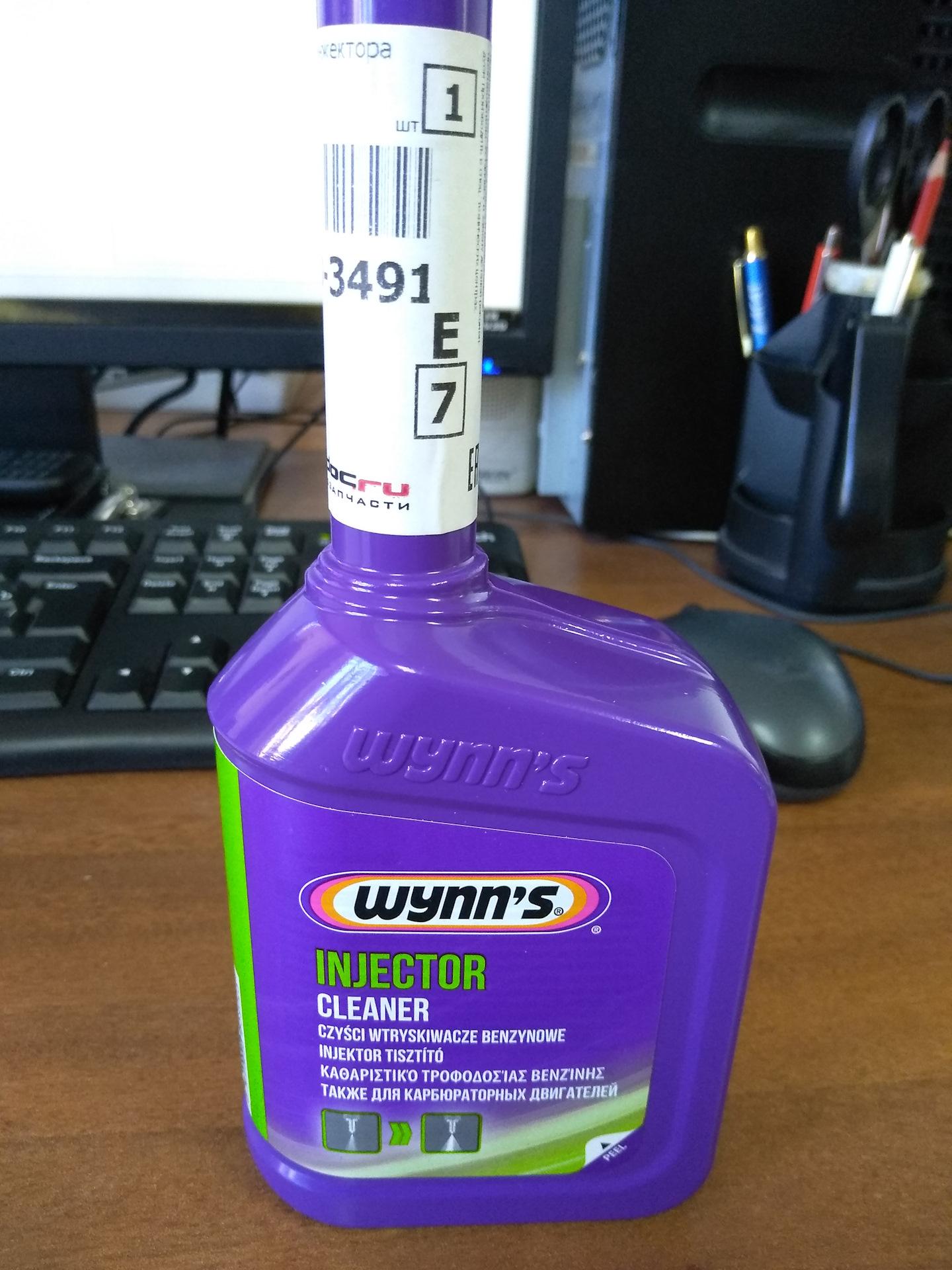 WYNN S injektor tisztító