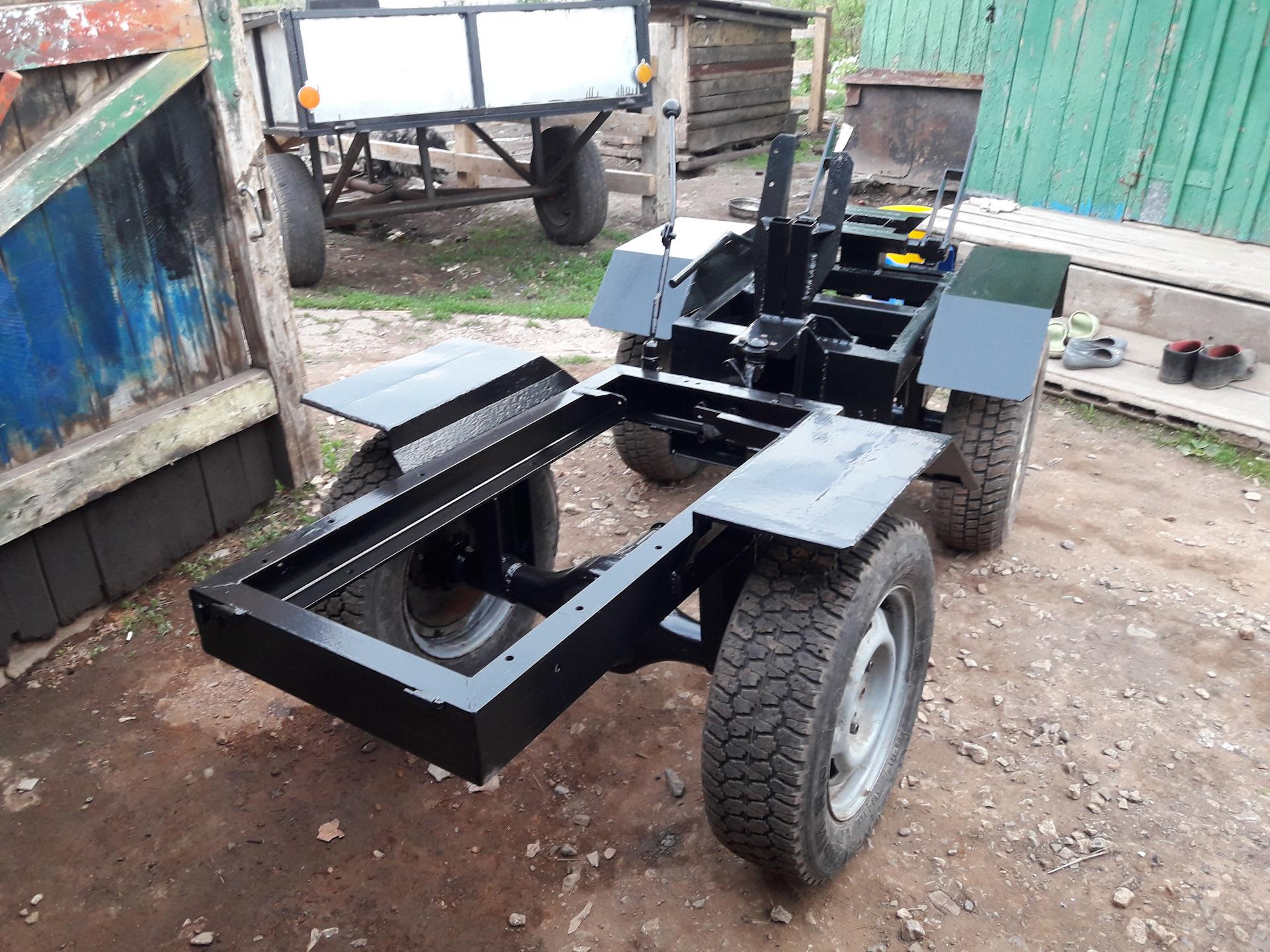 Фото рамы для самодельного трактора