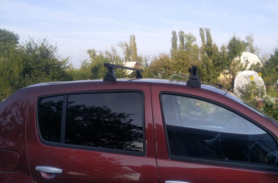 Багажник на крышу Renault Sandero (2009-2014