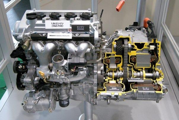 Двигатель для тойота приус