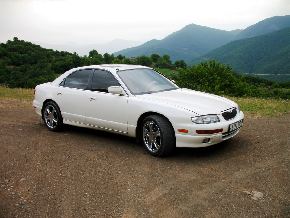 Mazda Millenia White Snow Milly Logbook