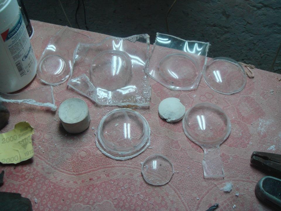 Как сделать стекло для фары своими руками
