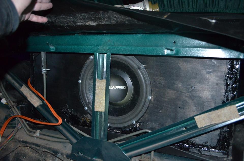 Установка усилителя в машину ваз 2107 своими руками