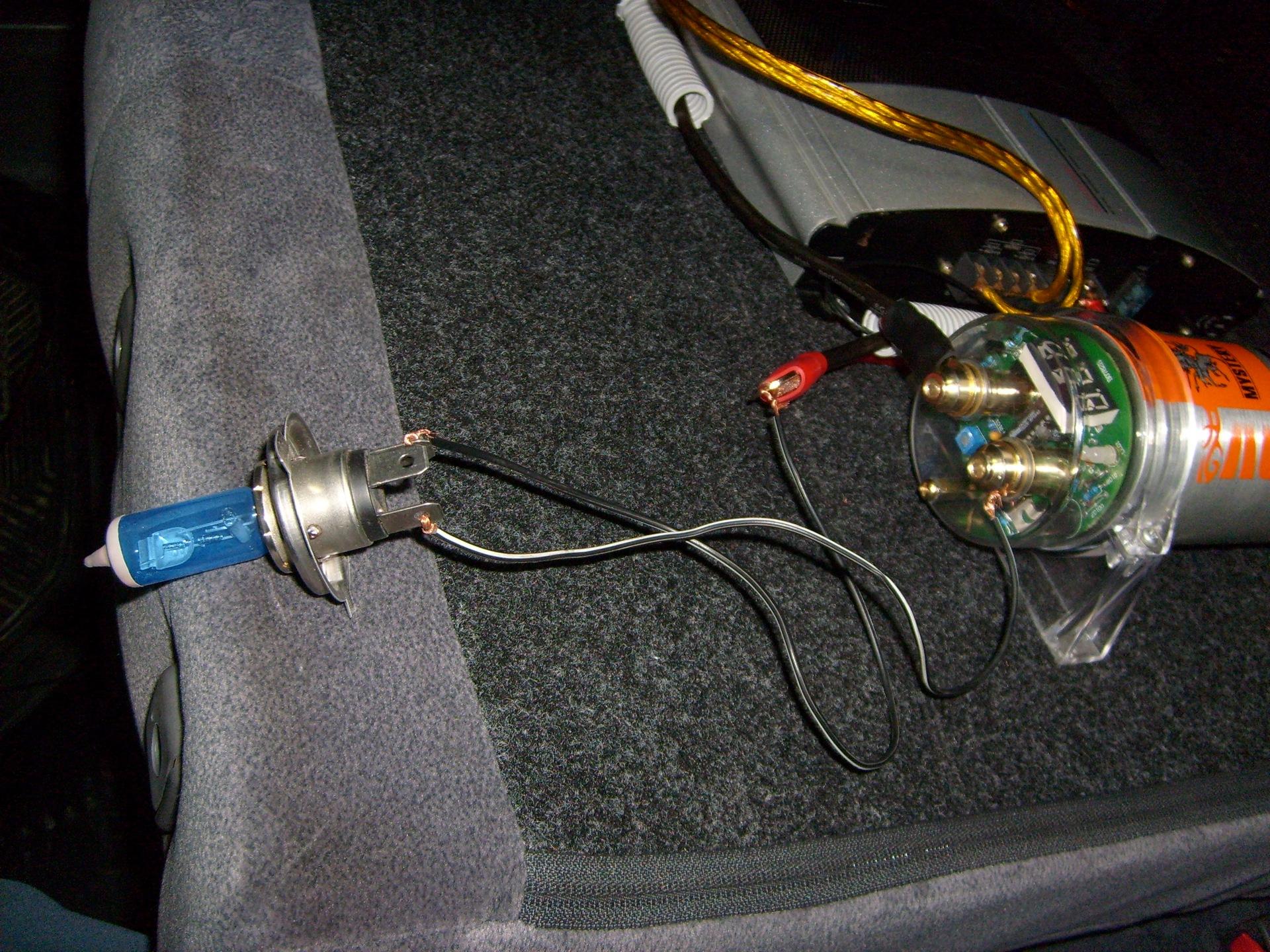 схема подключения сабвуфера и усилителя fusion