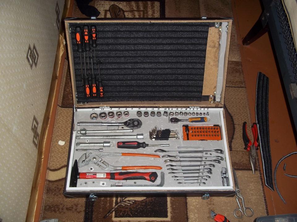 Сделать чемодан для инструментов