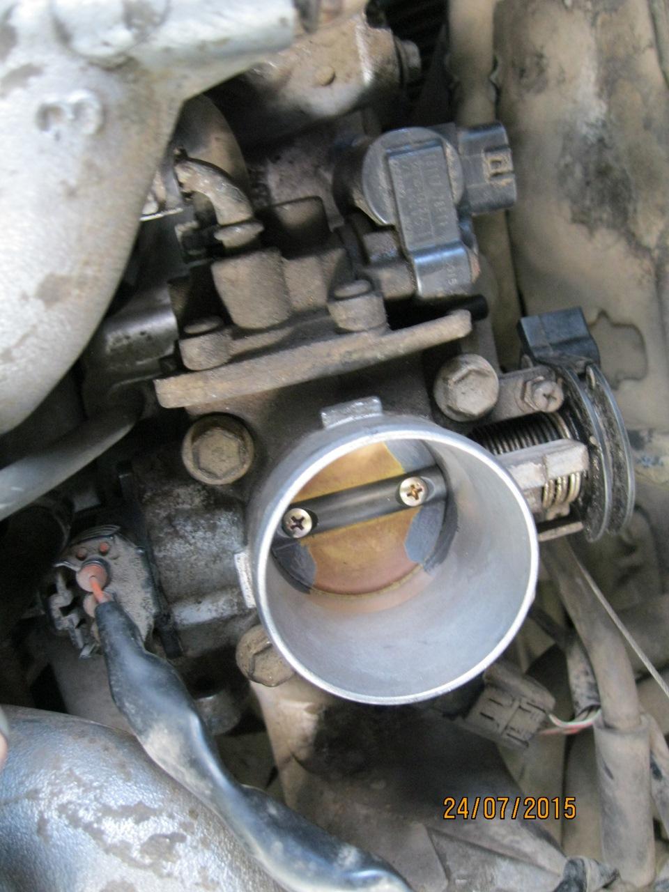 Сузуки лиана клапан егр ремонт своими руками