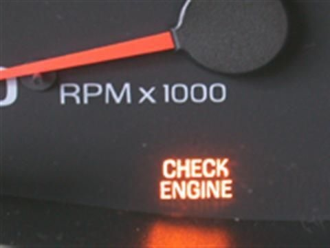 check engine опель омега