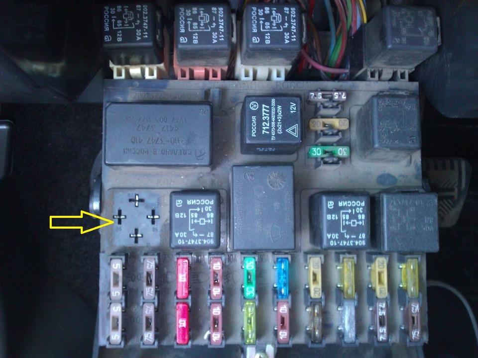 Фото №20 - где находится реле зарядки на ВАЗ 2110