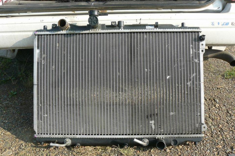 радиатор mazda capella