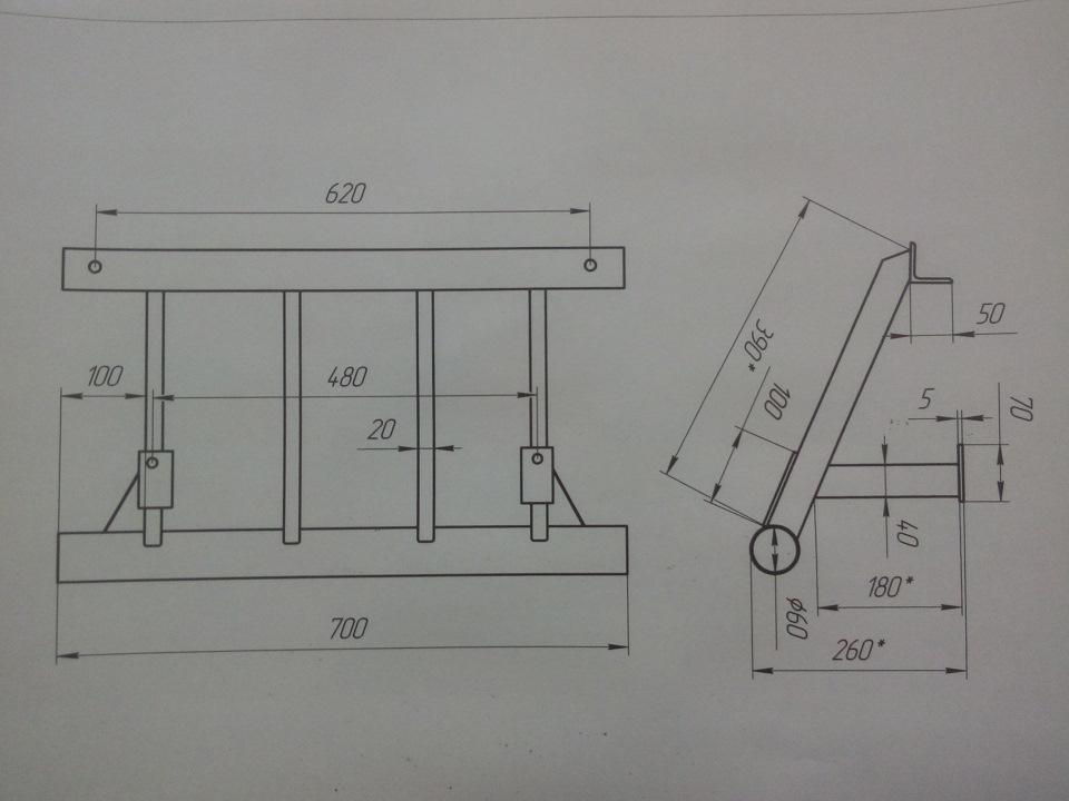 Чертежи защита рулевых тяг на уаз 469 своими руками чертежи 28