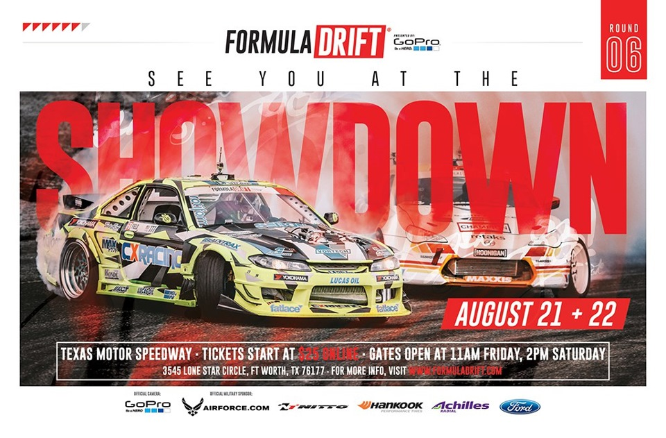 Get your Formula DRIFT Racing Tickets now and use promo code