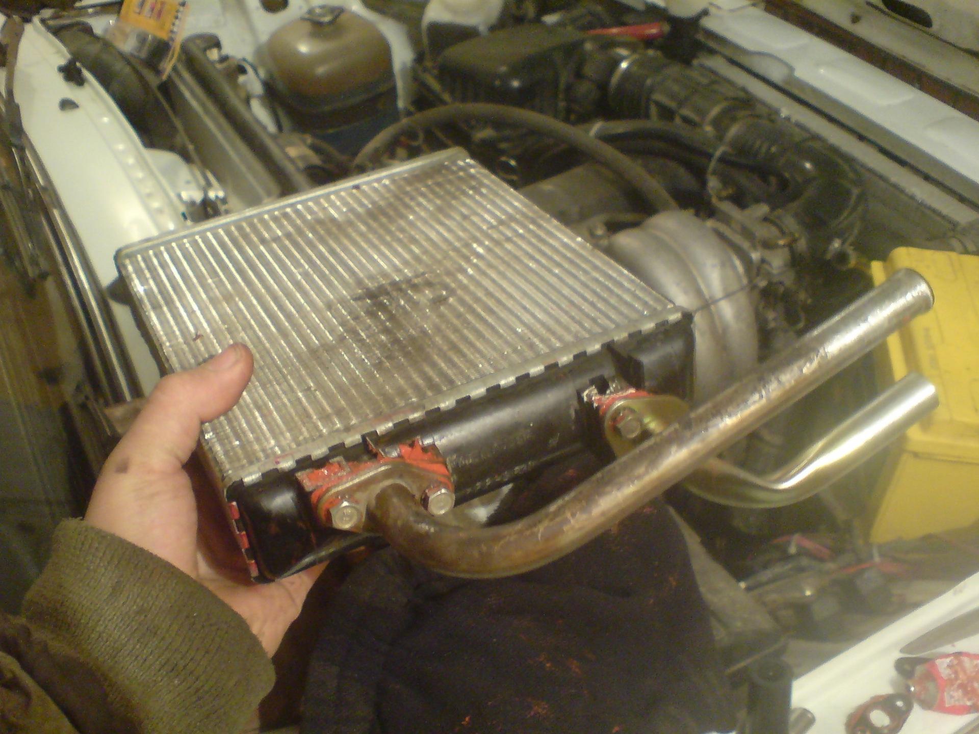 Ремонт радиаторов автомобилей своими руками на классике