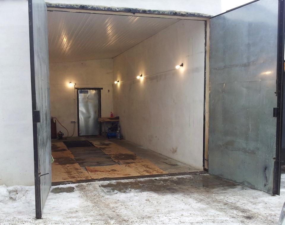 Железный гараж для газели металлический гараж в кинеле