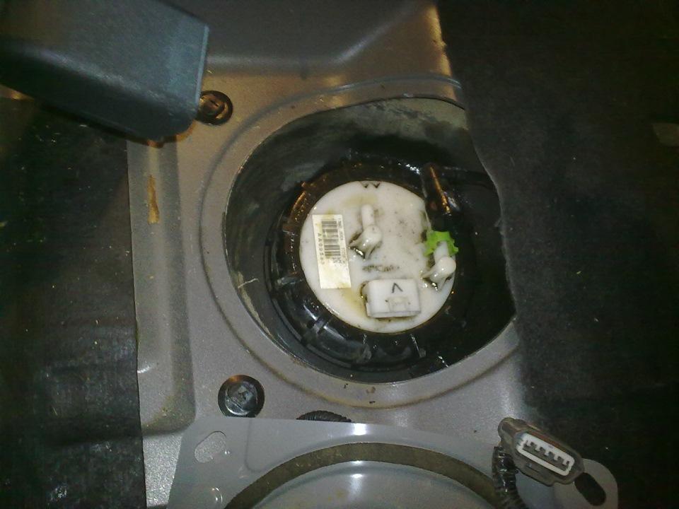 промывка бензобака nissan