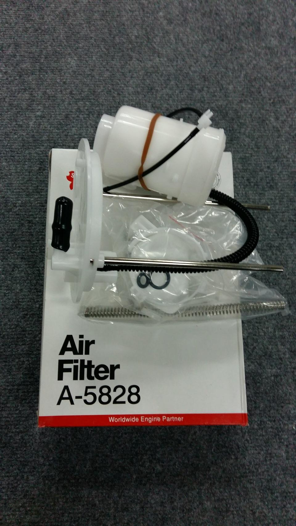 топливный фильтр на митсубиси асх