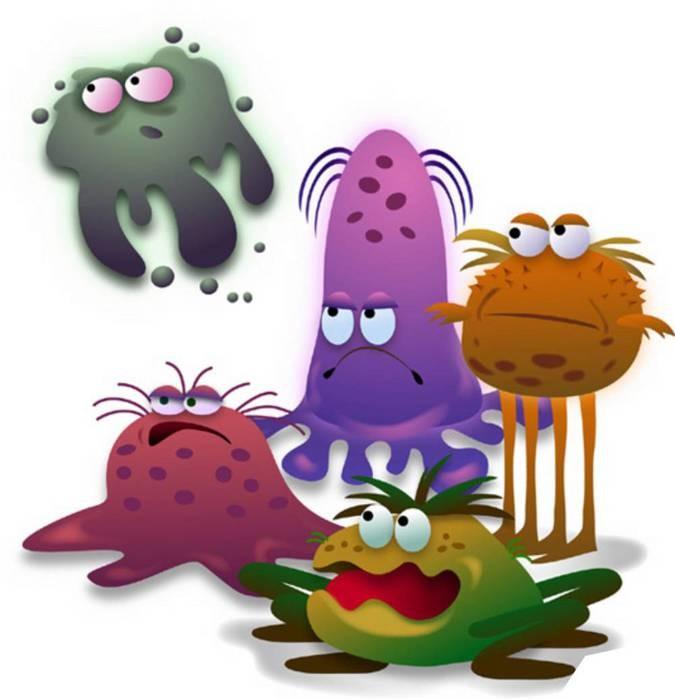 Смешные картинки с бактериями, осенняя открытка